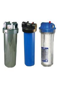 Фильтр предварительной очистки воды для насосной станции.